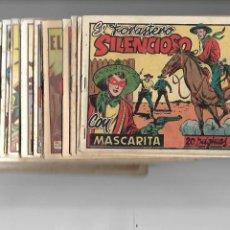 Tebeos: MASCARITA, AÑO 1949 LOTE DE 27 TEBEOS ORIGINALES DEL Nº 1 AL 28, LE FALTA EL Nº 3 PARA COMPLETARLA. Lote 170937395