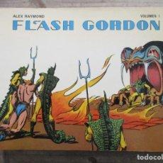 Tebeos: COLECCION FLASH GORDON - 8 EJEMPLARES - ALEX RAYMOND - MAC RABOY - EDICIONES B.O.. Lote 170961289