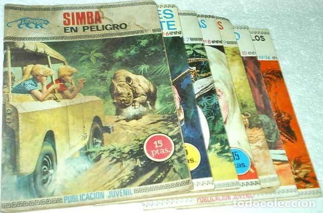 Tebeos: LEOPARDO, COMPLETA, TORAY 1971, 14 TEBEOS EN MUY BUEN ESTADO Y DIFICIL IMPORTANTE LEER DESCRIPCION - Foto 2 - 171035324