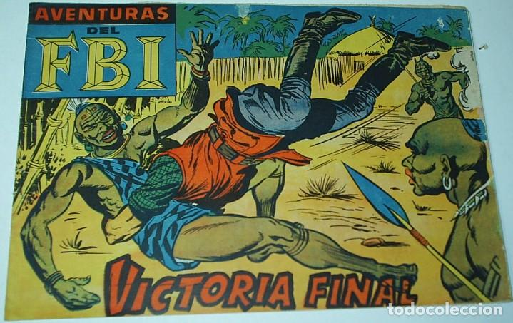 Tebeos: F B I, COMPLETA,AVENTURAS FBI, ORIGINAL ROLLAN 1951, ÚNICA A LA VENTA,252 TEBEOS MUY BUEN ESTADO - Foto 4 - 171068269