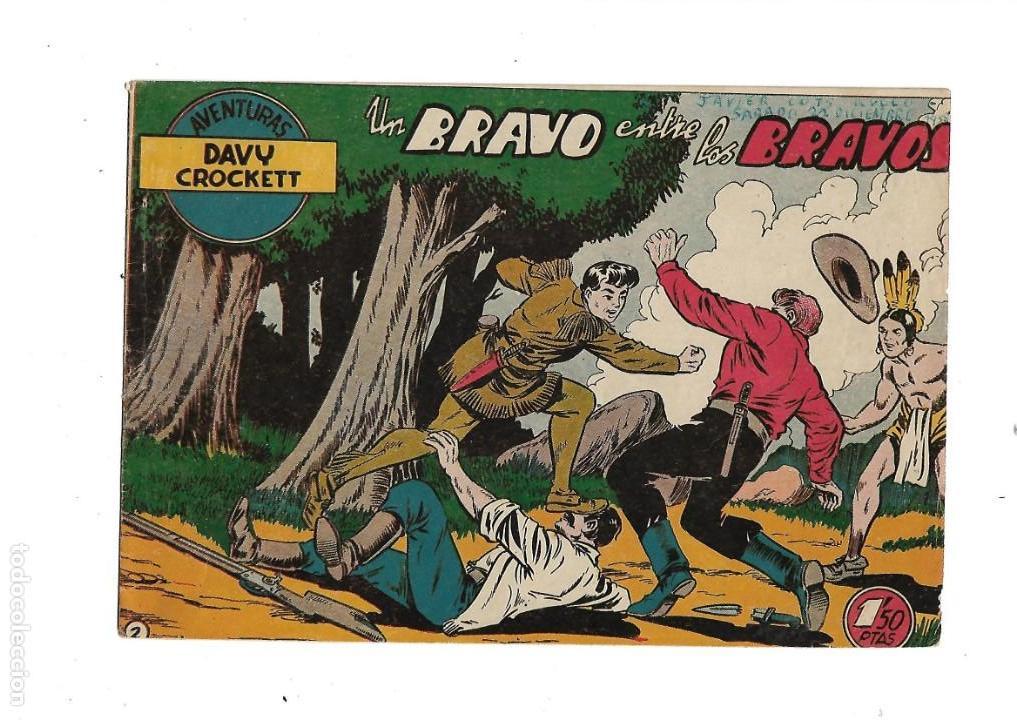 Tebeos: Aventuras Davy Crockett, Año 1958. Colección Completa son 31 Tebeos Originales el Nº 26 nunca visto - Foto 5 - 171299485