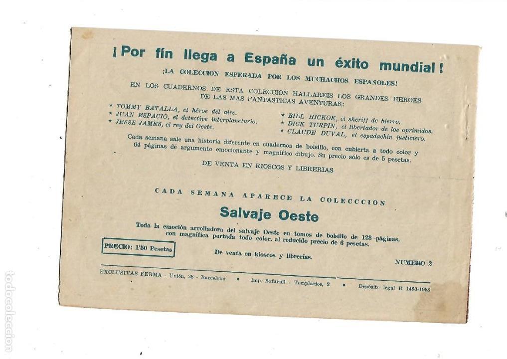 Tebeos: Aventuras Davy Crockett, Año 1958. Colección Completa son 31 Tebeos Originales el Nº 26 nunca visto - Foto 6 - 171299485