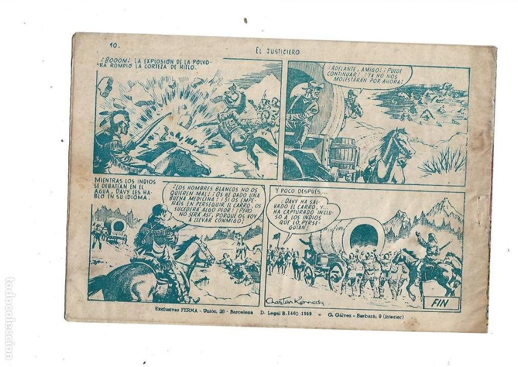 Tebeos: Aventuras Davy Crockett, Año 1958. Colección Completa son 31 Tebeos Originales el Nº 26 nunca visto - Foto 16 - 171299485