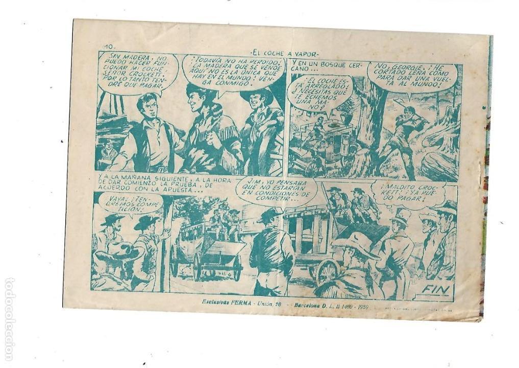 Tebeos: Aventuras Davy Crockett, Año 1958. Colección Completa son 31 Tebeos Originales el Nº 26 nunca visto - Foto 20 - 171299485