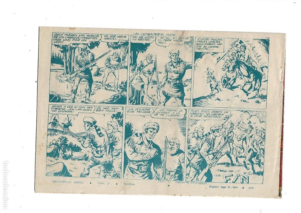 Tebeos: Aventuras Davy Crockett, Año 1958. Colección Completa son 31 Tebeos Originales el Nº 26 nunca visto - Foto 8 - 171299485