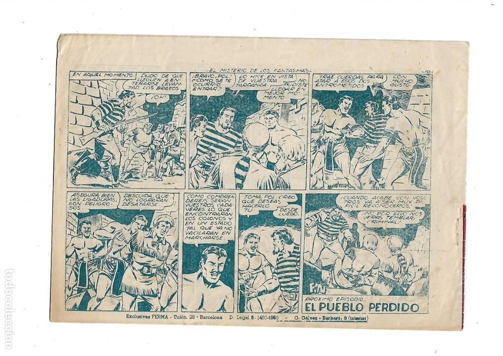 Tebeos: Aventuras Davy Crockett, Año 1958. Colección Completa son 31 Tebeos Originales el Nº 26 nunca visto - Foto 10 - 171299485