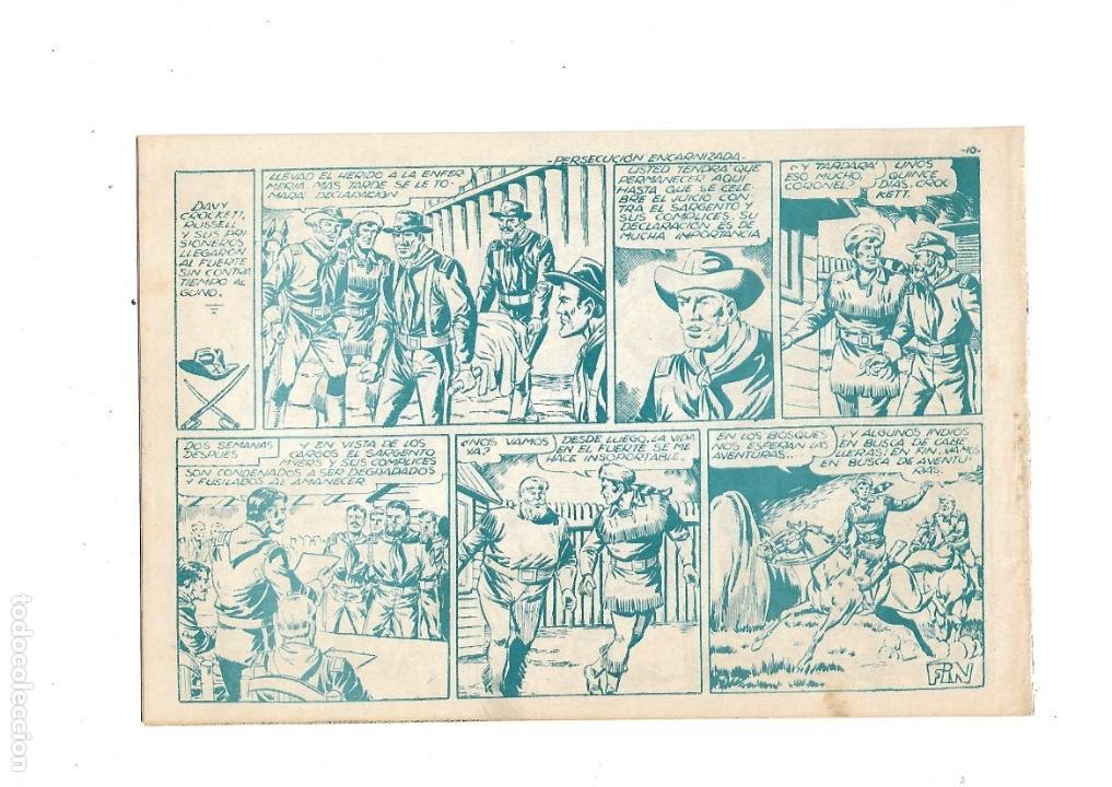 Tebeos: Aventuras Davy Crockett, Año 1958. Colección Completa son 31 Tebeos Originales el Nº 26 nunca visto - Foto 12 - 171299485