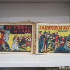 Tebeos: COLECCION EL GUERRERO DEL ANTIFAZ - DEL 1 AL 363 CORRELATIVOS - VALENCIANA - MANUEL GAGO. Lote 171407524