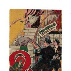 Tebeos: EL PODER INVISIBLE AÑO 1957 COLECCIÓN COMPLETA SON 37 TEBEOS ORIGINALES SON MUY DIFICILES DE MARTINE. Lote 171409104