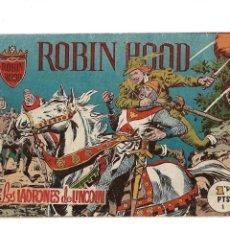 Tebeos: ROBIN HOOD AÑO 1959 COLECCIÓN COMPLETA SON 21. TEBEOS ORIGINALES SON DIFICILISIMOS DE COMPLETAR. Lote 171412914