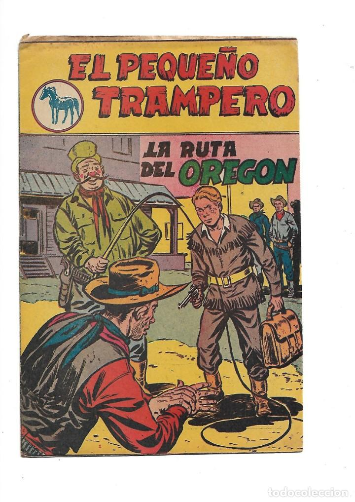 EL PEQUEÑO TRAMPERO COLECCIONES COMPLETAS 1ª SON 35 TEBEOS 2ª SERIE SON 20 TEBEOS Y TODOS ORIGINALES (Tebeos y Comics - Tebeos Colecciones y Lotes Avanzados)