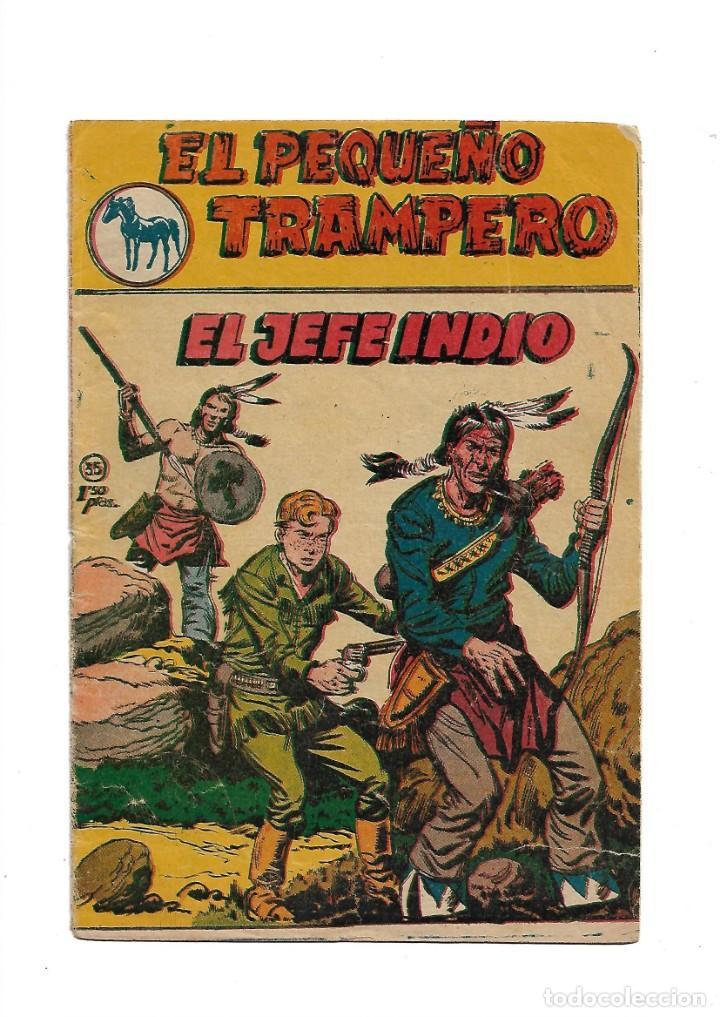 Tebeos: El Pequeño Trampero Colecciones Completas 1ª son 35 tebeos 2ª Serie son 20 tebeos y todos originales - Foto 5 - 171416329