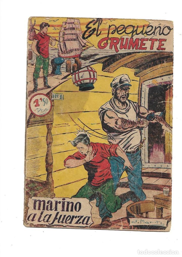 EL PEQUEÑO GRUMETE 1ª Y 2ª SERIE SON 2 COLECCIONES COMPLETAS SON 50 TEBEOS ORIGINALES MUY DIFICILES (Tebeos y Comics - Tebeos Colecciones y Lotes Avanzados)