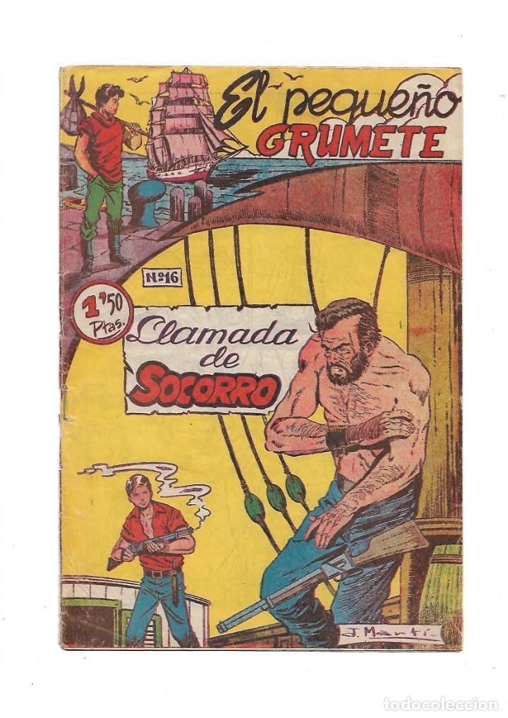 Tebeos: El Pequeño Grumete 1ª y 2ª Serie son 2 Colecciones Completas son 50 Tebeos Originales muy dificiles - Foto 3 - 171436338