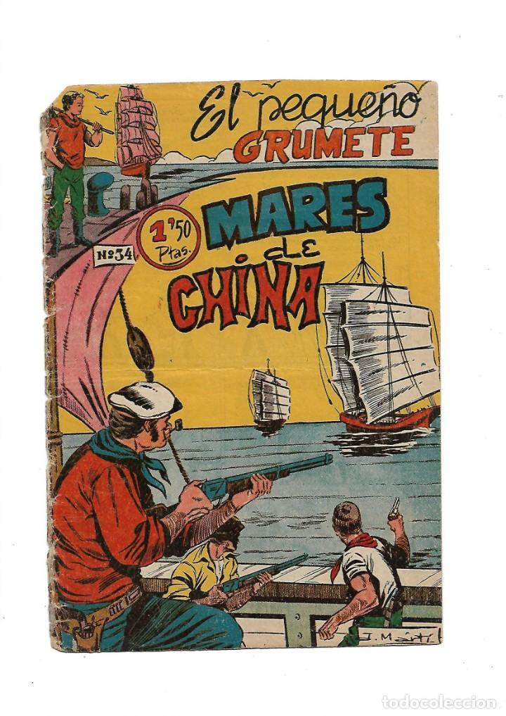 Tebeos: El Pequeño Grumete 1ª y 2ª Serie son 2 Colecciones Completas son 50 Tebeos Originales muy dificiles - Foto 5 - 171436338