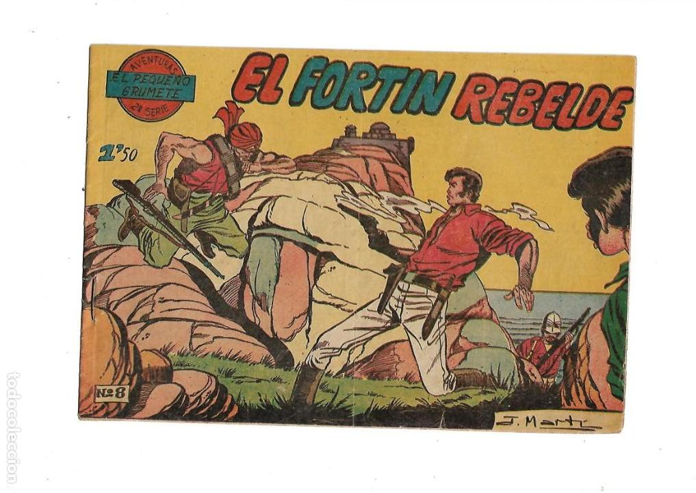 Tebeos: El Pequeño Grumete 1ª y 2ª Serie son 2 Colecciones Completas son 50 Tebeos Originales muy dificiles - Foto 9 - 171436338