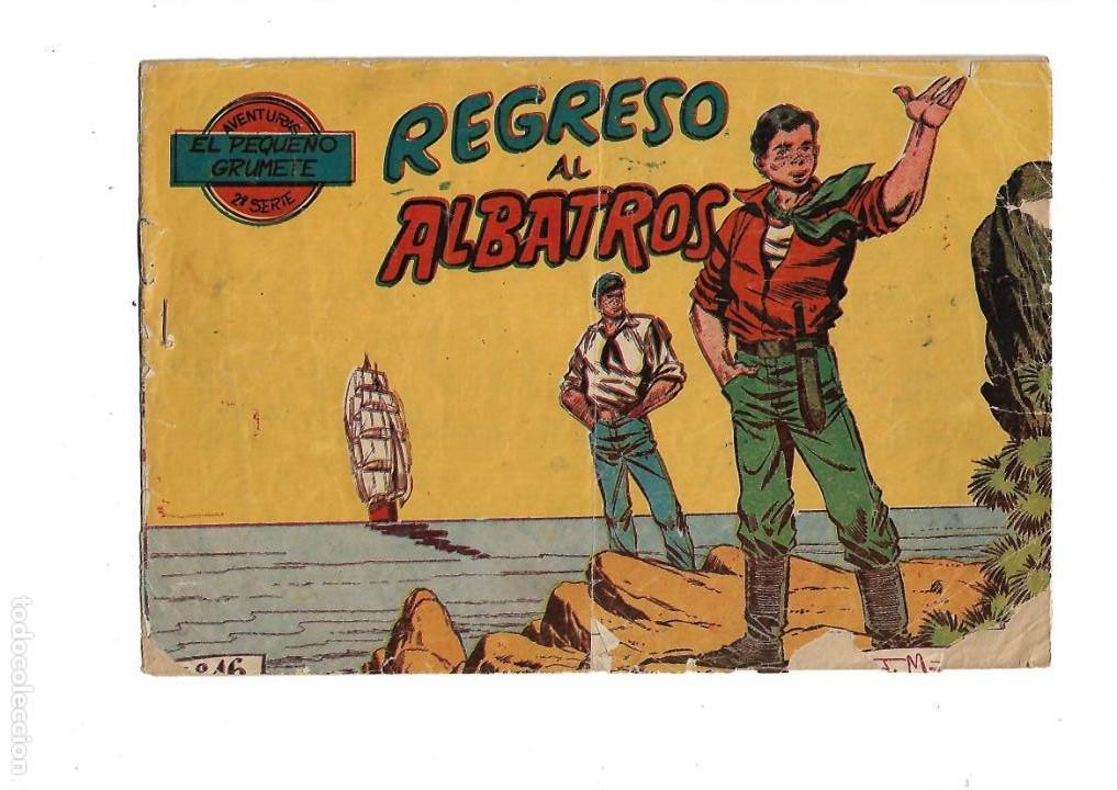 Tebeos: El Pequeño Grumete 1ª y 2ª Serie son 2 Colecciones Completas son 50 Tebeos Originales muy dificiles - Foto 10 - 171436338