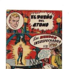 Tebeos: EL DUEÑO DEL ÁTOMO AÑO 1956 COLECCIÓN COMPLETA SON 33 TEBEOS ORIGINALES SON DIFICILISIMOS Y NUEVOS. Lote 171445293