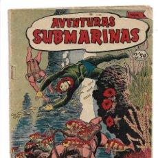 Tebeos: AVENTURAS SUBMARINAS AÑO 1956 COLECCIÓN COMPLETA SON 4. TEBEOS ORIGINALES Y SON DIFICILES. Lote 171448397