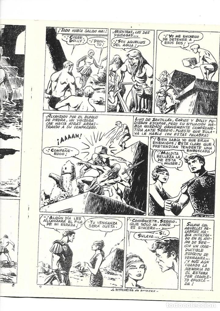 Tebeos: Aventuras Submarinas Año 1956 Colección Completa son 4. Tebeos Originales y son dificiles - Foto 10 - 171448397