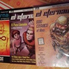 Livros de Banda Desenhada: EL ETERNAUTA: EL MUNDO ARREPENTIDO - EL PERRO LLAMADOR - ODIO CÓSMICO. Lote 171452848
