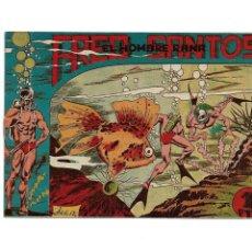 Tebeos: FRED SANTOS EL HOMBRE RANA, AÑO 1956 LOTE DE 14 TEBEOS ORIGINALES FALTA EL Nº 2 PARA COMPLETAR LA CO. Lote 171532698