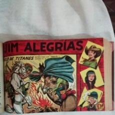 Tebeos: JIM ALEGRIAS ENCUADERNADA MAGA COMPLETA (VER FOTO). Lote 171703457