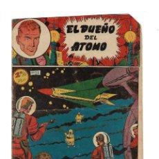 Tebeos: EL DUEÑO DEL ÁTOMO, AÑO 1.956. LOTE DE 30 TEBEOS SON ORIGINALES DIBUJOS DE J. MARTI, EDITORIAL FERMA. Lote 110127911