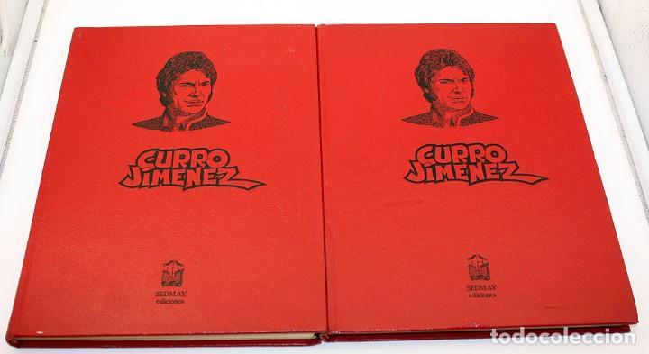 CURRO JIMENEZ - COLECCION COMPLETA - 2 TOMOS - SEDMAY - 1977 - ADAPTACION DE LA SERIE DE TVE (Tebeos y Comics - Tebeos Colecciones y Lotes Avanzados)