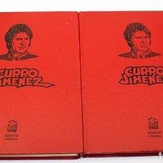 Giornalini: CURRO JIMENEZ - COLECCION COMPLETA - 2 TOMOS - SEDMAY - 1977 - ADAPTACION DE LA SERIE DE TVE. Lote 171780849
