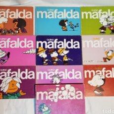 Tebeos: COLECCIÓN MAFALDA EDITORIAL LUMEN 10 TOMOS 1977. Lote 171817489
