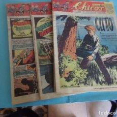 Livros de Banda Desenhada: 11 TEBEOS DE CHICOS 1947,. Lote 171898759