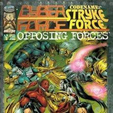 Tebeos: CYBERFORCE / CODENAME: STRYKE FORCE. WORLD COMICS 1996. Nº 1. Lote 171980390