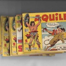 Tebeos: AQUILES, AÑO 1962 COLECCIÓN COMPLETA SON 36 TEBEOS ORIGINALES DIBUJANTE SEGRELLES. Lote 172011994