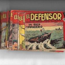 Tebeos: EL DEFENSOR, AÑO 1962 COLECCIÓN COMPLETA SON 26. TEBEOS ORIGINALES ES DIFICIL DE COMPLETAR. Lote 172046465