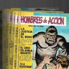Tebeos: HOMBRES DE ACCIÓN, AÑO 1958 COLECCIÓN COMPLETA SON 16 TEBEOS ORIGINALES DIBUJOS DE DARNIS.. Lote 172046837
