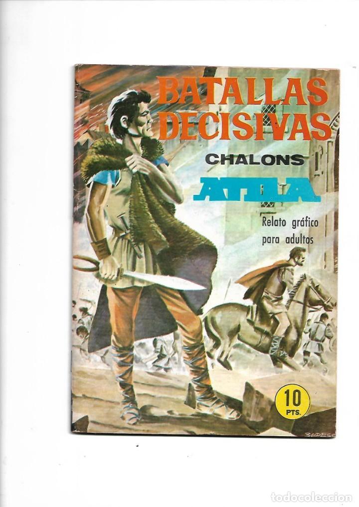 Tebeos: Batallas Decisivas Año 1964 de 20 X 15 Colección Completa son 20 Tebeos Originales nuevos - Foto 2 - 172056782