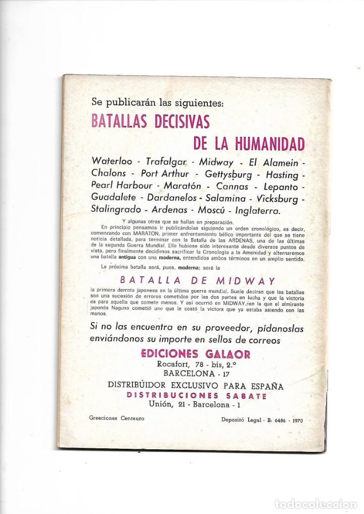 Tebeos: Batallas Decisivas Año 1964 de 20 X 15 Colección Completa son 20 Tebeos Originales nuevos - Foto 3 - 172056782
