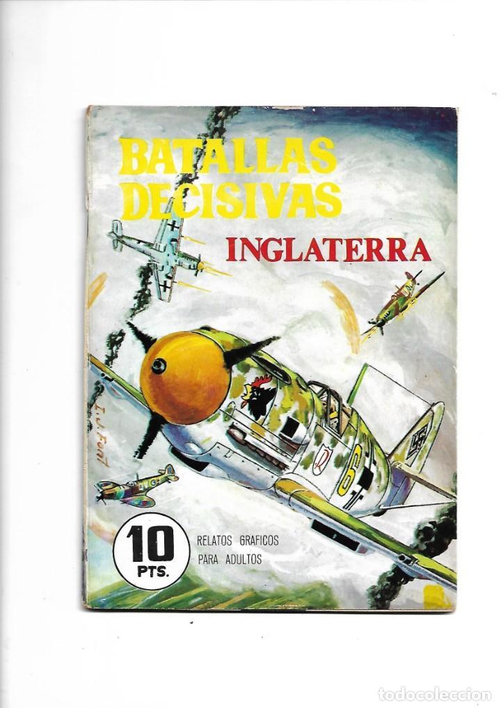 Tebeos: Batallas Decisivas Año 1964 de 20 X 15 Colección Completa son 20 Tebeos Originales nuevos - Foto 4 - 172056782