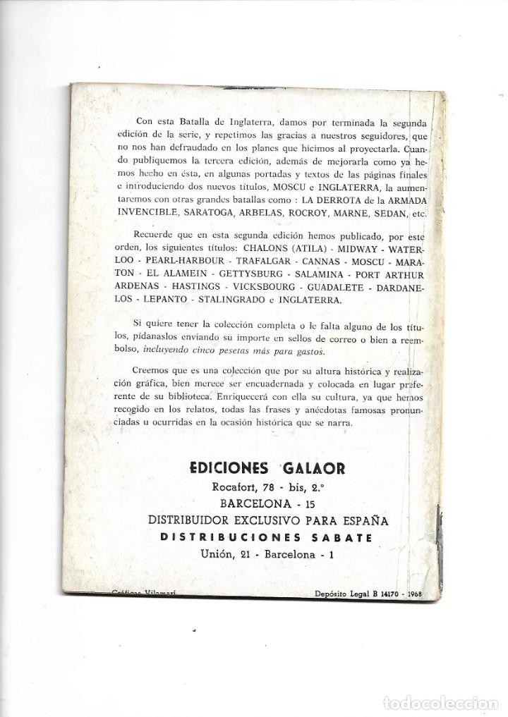 Tebeos: Batallas Decisivas Año 1964 de 20 X 15 Colección Completa son 20 Tebeos Originales nuevos - Foto 5 - 172056782