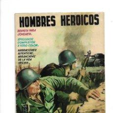 Tebeos: HOMBRES HEROICOS, COLOR, AÑO 1962, COLECCIÓN COMPLETA SON 8. TEBEOS ORIGINALES MUY NUEVOS DE 24 X 17. Lote 172064235