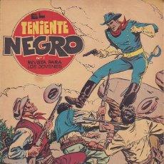 Tebeos: COLECCION COMPLETA EL TENIENTE NEGRO 30 EJEMPLARES EDITORIAL BRUGUERA . Lote 172293972