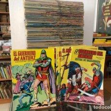 Tebeos: COLECCION COMPLETA EL GUERRERO DEL ANTIFAZ EDIT VALENCIANA 1972 343 EJEMPLARES + 5 EXTRAORDINARIO. Lote 172471034