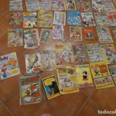 Tebeos: LOTE 75 COMICS ESPAÑOLES DE LOS 50 A 80, CON LISTA UDACO NOVARO PUMBY TELE COLOR LA RISA TABU. Lote 172565893