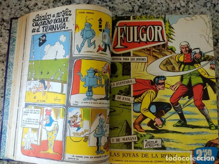 Tebeos: Fulgor el rebelde.20 números en un Tomo. Ediciones Toray 1961. - Foto 3 - 172776308