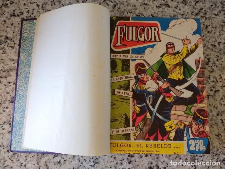 FULGOR EL REBELDE.20 NÚMEROS EN UN TOMO. EDICIONES TORAY 1961. (Tebeos y Comics - Tebeos Pequeños Lotes de Conjunto)
