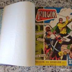 Tebeos: FULGOR EL REBELDE.20 NÚMEROS EN UN TOMO. EDICIONES TORAY 1961. . Lote 172776308