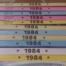 Tebeos: 1984 LOTE 11 TOMOS EXTRA RETAPADOS TOUTAIN DEL 1 AL 12 (FALTA EL 5) BUEN ESTADO/MUY BUEN ESTADO. Lote 172957939