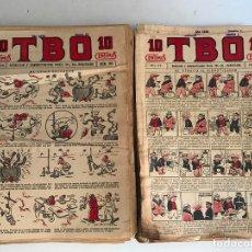 Tebeos: LOTE DE TBO AÑOS 30 - 114 NUMEROS ENTRE EL 780 Y EL 1054. Lote 173098908