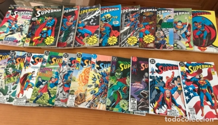 OFERTA LOTE DE 92 COMICS SUPERMAN ZINCO VOL 2+ 6 NUMEROS ESPECIALES EXTRAS (Tebeos y Comics - Tebeos Colecciones y Lotes Avanzados)